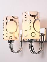 baratos -Estilo Mini Simples / Moderno / Contemporâneo Luminárias de parede Sala de Estar / Quarto Metal Luz de parede 220-240V 60 W