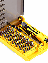 baratos -6089a 45 em 1 ferramenta de chave de fenda intercambiável profissional telefone / pc / ferramentas de reparo da câmera com tweezer eixo de extensão difícil