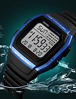Недорогие -SKMEI Муж. Нарядные часы Наручные часы Японский Цифровой Черный 30 m Защита от влаги Календарь Хронометр Цифровой На каждый день Мода - Зеленый Синий Розовое золото / Фосфоресцирующий