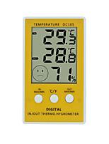 Недорогие -WINYS DC105 Портативные Внутренний термометр -10℃~90℃ Семейная жизнь, Измерение температуры и влажности