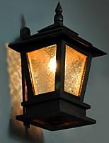 Недорогие -Cool Ретро Настенные светильники кафе Металл настенный светильник 200-240 Вольт 40 W