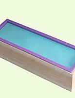 Недорогие -Инструменты для выпечки Дерево силикагель Творческая кухня Гаджет Необычные гаджеты для кухни Прямоугольный Десертные инструменты 1шт