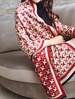 abordables -Sans Manches Cashmere imitation Mariage / Fête / Soirée Foulards pour Femme Avec Imprimé / Bloc de Couleur Châles / Echarpes