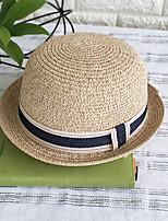 Недорогие -Жен. Классический Широкополая шляпа С принтом