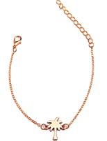 Недорогие -женский сладкий / модный браслет из сплава