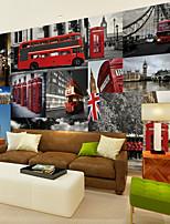 baratos -papel de parede / Mural Tela de pintura Revestimento de paredes - adesivo necessário Azulejo / Padrão / 3D