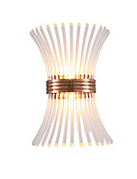 baratos -QIHengZhaoMing LED / Contemporâneo Moderno Luminárias de parede Lojas / Cafés / Escritório Metal Luz de parede 110-120V / 220-240V 5 W