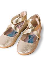 Недорогие -Девочки Обувь Полиуретан Весна Удобная обувь Сандалии для Дети Золотой / Серебряный