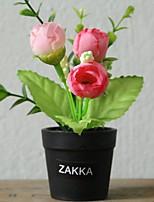 Недорогие -Искусственные Цветы 1 Филиал Классический Современный современный Вечные цветы / Ваза Букеты на стол