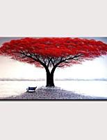 Недорогие -mintura® большой размер ручная роспись абстрактное дерево, масло живопись на холсте, современная стена, художественная картина для украшения дома без рамки