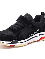 Недорогие -Мальчики / Девочки Обувь Свиная кожа Осень Удобная обувь Спортивная обувь Беговая обувь для Дети / Для подростков Черный / Светло-лиловый / Темно-серый