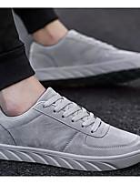 Недорогие -Муж. Комфортная обувь Микроволокно Наступила зима Кеды Черный / Серый / Желтый