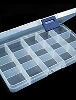 Недорогие -Место хранения организация Ювелирная коллекция пластик Прямоугольная форма Оригинальные