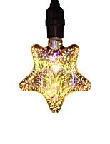 Недорогие -1шт 5 W 400 lm E26 / E27 LED лампы накаливания Звезда 25 Светодиодные бусины COB Для вечеринок / Декоративная / звездный Тёплый белый 85-265 V