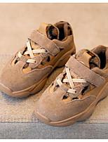 Недорогие -Мальчики / Девочки Обувь Замша Зима Удобная обувь Спортивная обувь Беговая обувь для Дети / Для подростков Серый / Желтый