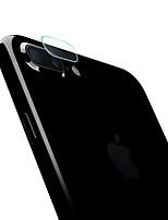 Недорогие -Защитная плёнка для экрана для Apple iPhone 8 Pluss / iPhone 7 Plus Закаленное стекло 1 ед. Протектор объектива камеры HD / Уровень защиты 9H / Против отпечатков пальцев