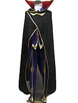 Недорогие -Вдохновлен Код Gease Lelouch Lamperouge Аниме Косплэй костюмы Косплей Костюмы Особый дизайн Пальто / Кофты / Брюки Назначение Муж. / Жен.