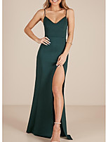 Недорогие -женская ежедневная / партийная асимметричная оболочка для платьев зеленого цвета s m l xl