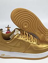 Недорогие -Муж. Комфортная обувь Полиуретан / Синтетика Весна лето На каждый день Кеды Беговая обувь / Для прогулок Дышащий Золотой