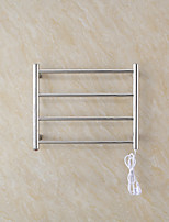 abordables -Factory OEM Nouveautés 9018 Towel Warmer pour Nouveaux Ustensiles de Cuisine / Toilettes / Chambre Etanche / Indicateur d'alimentation / Design nouveau 220-240 V / 110-150 V