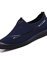 Недорогие -Муж. Комфортная обувь Полиуретан Весна Мокасины и Свитер Черный / Темно-синий