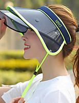 Недорогие -женская шляпа pu sun - цветной блок