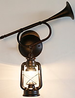 Недорогие -Cool Современный современный Настенные светильники кафе Металл настенный светильник 220-240Вольт 40 W