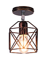 Недорогие -Потолочные светильники Рассеянное освещение Окрашенные отделки Металл Очаровательный 110-120Вольт / 220-240Вольт