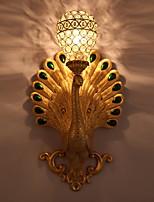 Недорогие -Cool Деревенский стиль Настенные светильники Спальня Стекло настенный светильник 220-240Вольт 40 W