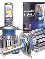 Недорогие -OTOLAMPARA 2pcs H4 Автомобиль Лампы 40 W Высокомощный LED 8000 lm 4 Светодиодная лампа Налобный фонарь Назначение Toyota / Nissan / Honda Tiida / Highlander / Новый Сантана 2018 / 2017