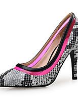 abordables -Femme Matière synthétique Printemps été Chaussures à Talons Talon Aiguille Bout pointu Fuchsia / Soirée & Evénement