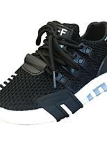 Недорогие -Мальчики / Девочки Обувь Трикотаж Осень Удобная обувь Спортивная обувь Беговая обувь Шнуровка для Дети Черный / Серый