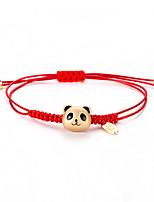 Недорогие -Плетение Браслет дружбы - Панда корейский, Милая, Мода Золотой Назначение Повседневные Жен.