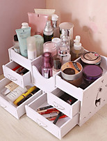 Недорогие -Место хранения организация Косметологический макияж Пластиковая пена из ПВХ Прямоугольная форма Творчество / Многослойный / Защита от пыли