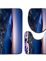 Недорогие -1 комплект Modern Коврики для ванны 100 г / м2 полиэфирный стреч-трикотаж Новинки нерегулярный Cool