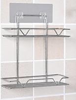 Недорогие -Полка для ванной обожаемый Современный Нержавеющая сталь 1шт На стену