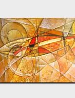 Недорогие -С картинкой Отпечатки на холсте - Животные Виды искусства Modern
