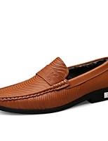 Недорогие -Муж. Комфортная обувь Наппа Leather Наступила зима Классика / На каждый день Кеды Сохраняет тепло Темно-коричневый / Хаки / Для вечеринки / ужина