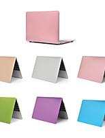 Недорогие -сплошной цвет ПВХ жесткий чехол для MacBook Pro Air 11-15 компьютерный корпус 2018 2017 года выпуска a1989 / a1706 / a1708 с сенсорной панелью