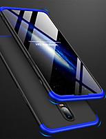 abordables -Coque Pour OnePlus OnePlus 6 / One Plus 6T Dépoli Coque Couleur Pleine Dur PC pour OnePlus 6 / One Plus 6T / One Plus 5
