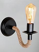 Недорогие -Cool Ретро Настенные светильники Спальня Металл настенный светильник 220-240Вольт 40 W