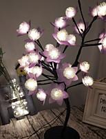 Недорогие -1шт 3D ночной свет Тёплый белый DC Powered обожаемый 220-240 V