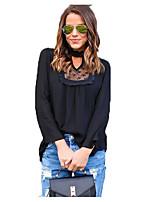 Недорогие -женская тонкая футболка - однотонная подставка