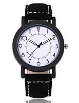 Недорогие -Жен. Нарядные часы Наручные часы Кварцевый Черный / Коричневый Повседневные часы Аналоговый Мода минималист - Черный Коричневый