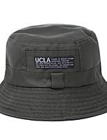 Недорогие -женская полиэстер флоппи шляпа - геометрическая