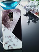 Недорогие -Кейс для Назначение Huawei Huawei Mate 20 Lite / Huawei Mate 20 Pro IMD / С узором Кейс на заднюю панель Мрамор Мягкий ТПУ для Huawei Honor 10 / Huawei Honor 9 Lite / Huawei Honor 8X
