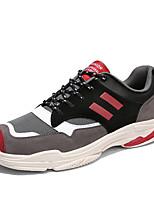 Недорогие -Муж. Комфортная обувь Сетка Наступила зима На каждый день Кеды Красный / Зеленый / Миндальный