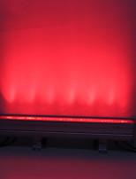 Недорогие -Новый мини наружный настенный омыватель 12 rgb 3 Вт dmx512 интерфейс высокой мощности светодиодный номинальный свет длинный настенный светильник сценические огни свадьба фоновые огни