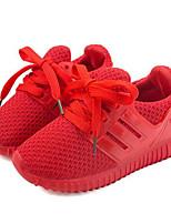 Недорогие -Мальчики / Девочки Обувь Эластичная ткань Весна & осень Удобная обувь Спортивная обувь Беговая обувь для Дети Черный / Красный