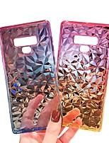 Недорогие -Cooho Кейс для Назначение SSamsung Galaxy S9 Plus / S9 Бумажник для карт / Защита от удара / Защита от пыли Кейс на заднюю панель Градиент цвета Мягкий ТПУ для S9 / S9 Plus / S8 Plus